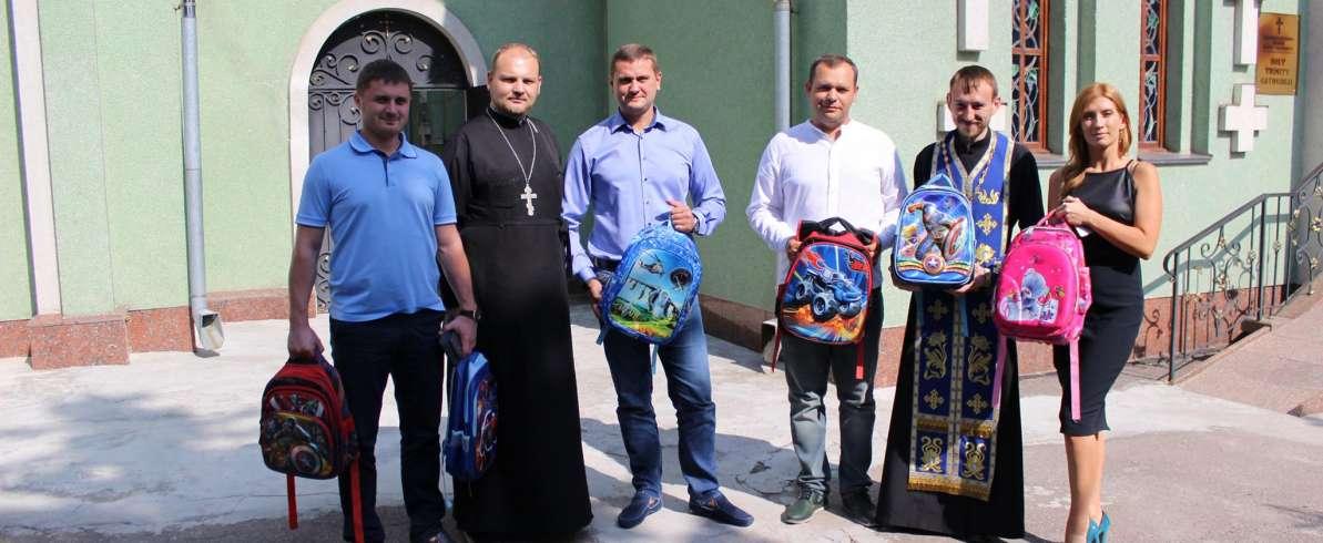 Черкаські «батьківщинівці» долучилися до акції «Ранець доброти»