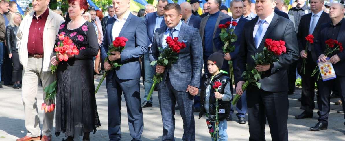 Черкаські «батьківщинівці» вшанували ліквідаторів аварії на Чорнобильській АЕС